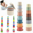 Baby Stacking Cups Pastel Modern Brand New Baby Toys Set-Best Gift for boy Kids