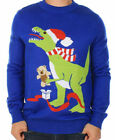 Merry Christmas Gift Dinosaur Bear Kids Santa Holiday Funny 3D Ugly Sweater