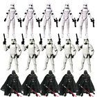 """Lot 3.75"""" Star Wars Stormtroopers Darth Vader Clone Trooper Action Figure Toys"""