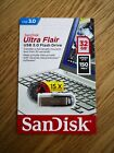 SanDisk Ultra Flair 32GB, 64GB, and 128GB USB 3.0 Flash Drive. (HOLIDAY GIFT!)