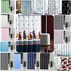 Printed Shower Curtain Waterproof Polyester Fabric Bathroom Shower Curtain