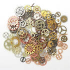 100g Jewelry Craft Vintage Cogs Gear Mix Mechanical Steampunk DIY Accessories