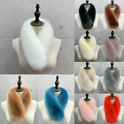 70cm Women Faux Fox Fur Collar Scarf Shawl Wrap WinterWarm Neckwarm Soft Cape