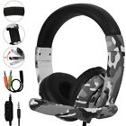 Stereo Sound Headphone Gaming Headset for PS5/PS4/Nintendo Switch/Xbox One/Phone