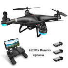 Holy Stone HS110G GPS FPV Drone With 1080P Camera RC Quadcopter 1/2/3Pcs Battery