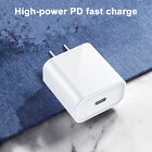 For Apple iPhone 12 Pro Max 11 XS Max iPad Fast Charger Charging Head 18W USB-C