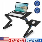 Adjustable Laptop Table Stand For Bed Sofa Office Laptop Desk Notebook Portable!