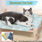 Elevated Dog Calming Bed Pet Cat Raised Sides Camping Cot Indoor Outdoor