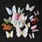 12pcs 3d Butterflies Wall Sticker Stickers For Home Wall Room Decoration