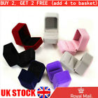 Velvet Engagement Necklace Ring Box Earring Box Jewelry Boxes & Organizers Hot