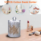 Clear Cotton Pad Swab Container Acrylic Cosmetic Makeup Holder Storage Organizer