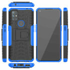 For Oneplus Nord N10 5G 3D 2in1 2-Layer Shockproof Rugged Armor Duty Case +Glass