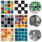 30x Kitchen Bathroom Tile Stickers Mosaic Sticker Self-adhesive Wall Home Decor