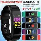 Smart Watch Heart Rate Monitor Tracker Blood Pressure Fitness Tracker Waterproof