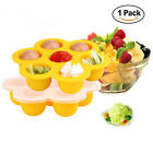 Silicone Baby Food Freezer Tray Weaning Storage Containers Food Mold Pan W
