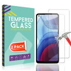 2 Pack For Motorola Moto G Stylus/Fast/Power/Play 2021 Tempered Glass Protector