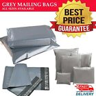 Grey Mailing Strong Poly Postal Postage Royal Mail Parcel Letter Self Seal Bags