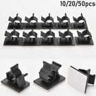 Cable Clips Adhesive Cord Management Clamp Fasteners Wire Holder Organizer.