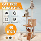 Large Cat Tree Climbing Tower Scratcher Scratching Post Toy Play Activity Centr