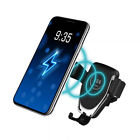 Qi Wireless  Charger Car Mount Holder Stand For Apple iPhone 12 11 X Samsung S20