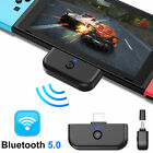 3PCS Bluetooth5.0 HIFI Audio Transmitter Adapter for Nintendo Switch/Lite PS4 PC