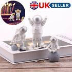 3pcs Cute Astronaut Figurine Desk Decoration Spaceman Statue Figures Ornament Uk