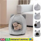 Cat Cave Bed Pet Dog Kitten For Indoor Cozy House Cat Warm Bed Igloo Nest Kennel