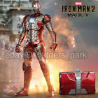 Zd Toys Iron Man 2 Mark V MK5 7    W/Suitcase Action Figure Collection IN STOCK