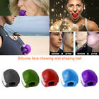Facial Muscle Trainer Fitness Ball Toner Neck Face Toning Lifting Jaw Exercise