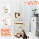 Large 55'' Cat Tree Play Tower Scratcher Scratching Post Toy Activity Centre U