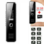 Voice Recorder Activate Mini Spy Digital Sound Audio Dictaphone MP3 Player Black