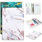Server Book for Waitress Waiter Organizer With Wallet Pocket Card Holder Marble