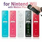 Remote Controller and Nunchuck Built in Motion Plus+Case For Nintendo Wii/ Wii...