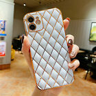 Case For iPhone 12 Pro Max 11 XS XR 7 8 Plus SE2 Luxury Bling Plating Soft Cover