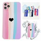 Love Heart Silicone Cute Soft Phone Case For iPhone 12 11 Pro Max XS XR 7 8 Plus
