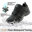 Wantdo Men's Athletic Shoes Waterproof Hiking Shoes Sports Low Cut Hiking Boots