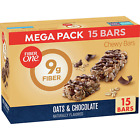 Fiber One Chewy Bars, Oats and Chocolate, 15g Fiber, 21.2 oz, 15 ct