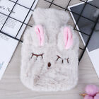 Cute PVC Relief Stress Pain Hot Water Bottle Bag Soft Reusable Hand WarmY*sh