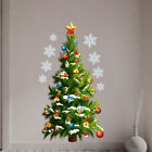 Merry Christmas Decoration Pvc Stickers Decal For Home Party Store Window Wall