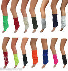 NEW LADIES NEON COLOUR LEG WARMERS FREE SIZE