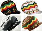 Reggae Rasta Peak Sloucy Crown Jamaica Marley Dread Lock Hat 100% Cotton