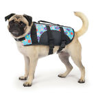 EAST SIDE PET DOG LIFE SAFER JACKET VEST BLUE FLORAL
