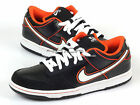 Nike Dunk Low Pro SB Black/White Orange Blaze Men 2010  304292-010