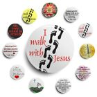 Button Pin Ichthys christlich Kreuz In love with Jesus