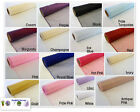 Organza Fabric - Woven Edge 40cm x 9m Roll Many Colours