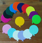 Birthday Die Cuts - Round Balloons - Party Invitations