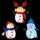 "10"" Christmas Snowman with Colour Changing Lights BC54"