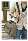 Classic Men's Casual Canvas Shoulder Messenger Laptop Bag-1012