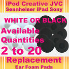 EarBud EarPhone HeadPhone Foam Sponge Pad Cover iPod Touch MX IPad Sony JVC PDA
