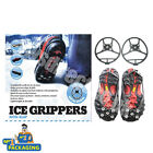 Ice & Snow Over Shoe & Boot Grippers Magic Spikers Anti Slip Footwear All Sizes